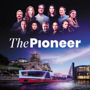 ThePioneer Team und Redaktionsschiff