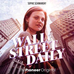 Frau an der Wall Street